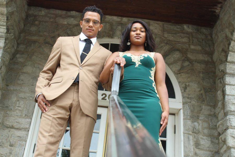 Mr. and Mrs. KSU of the royal court (Photo Ma'Rico Holland II)